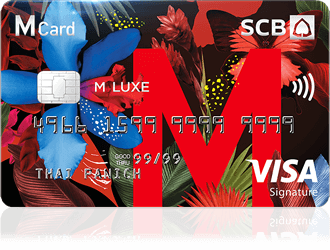 credit card SCB M LUXE