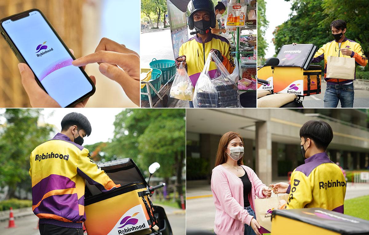 Robinhood ร่วมกับ ธนาคารไทยพาณิชย์ ส่งฟรีทุกออเดอร์ 15 วัน