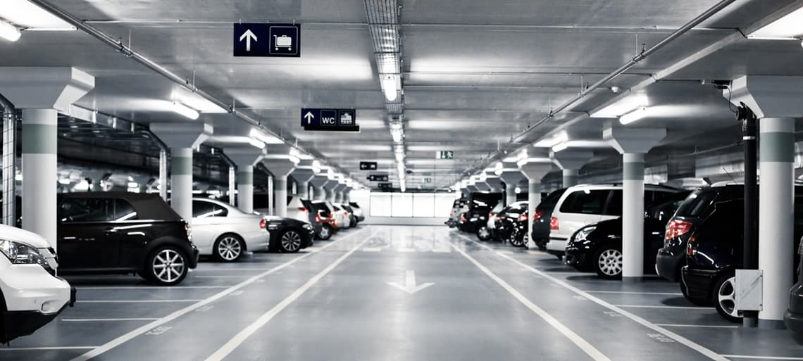 Parking space reservation service